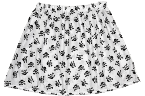 """My Life As A Pirate"" A-Line Skirt"