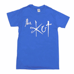 Last one! The Kut Logo T-Shirt - Electric Blue w/ White Print (Large)