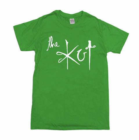 Last one! The Kut Logo T-Shirt - Green w/ White Print (XXL)