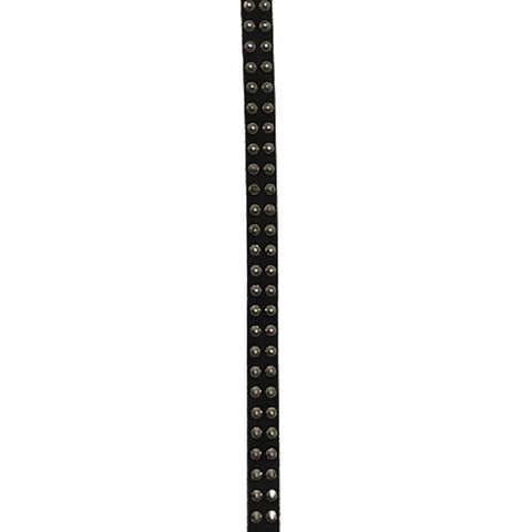 1 x Studded Real Leather Belt (XXL)