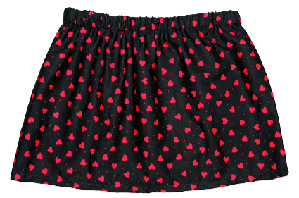 """Love My Hate"" A-Line Skirt"