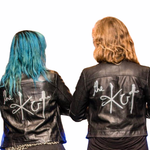 The Kut - Ladies Kustom Jacket - Hand Painted by Maha