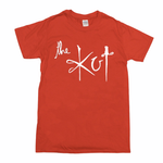 The Kut Logo T-Shirt - Red w/ White Print