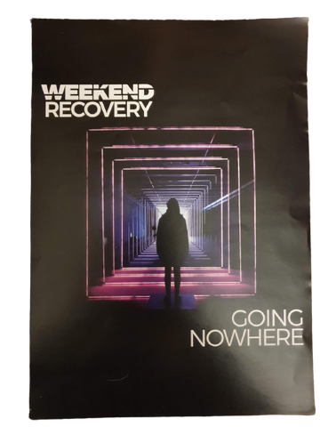 "Weekend Recovery A4 Poster ""Going Nowhere"""