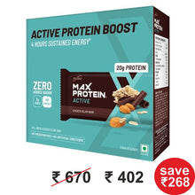 Load image into Gallery viewer, Max Protein Active Choco Slim (Pack of 6) 402g  (EXP : NOV/DEC 2020)