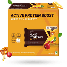 Load image into Gallery viewer, Max Protein Active Honey Lemon (Pack of 6)