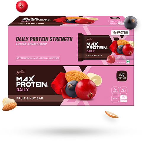Max Protein Daily Fruit & Nut (Pack of 24)