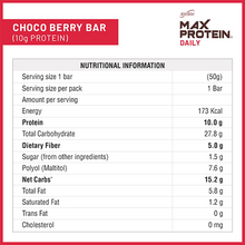Load image into Gallery viewer, Max Protein Daily Choco Berry (Pack of 24)