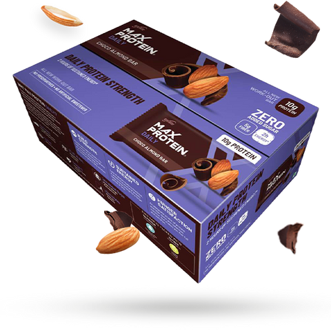 Max Protein Daily Choco Almond (Pack of 24)