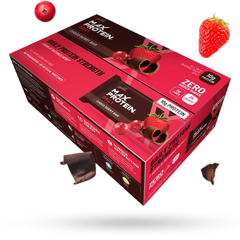 Max Protein Daily Choco Berry (Pack of 24)