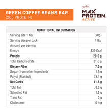 Load image into Gallery viewer, RiteBite Max Protein Active Green Coffee Beans (Pack of 12) - ritebite-max-protein