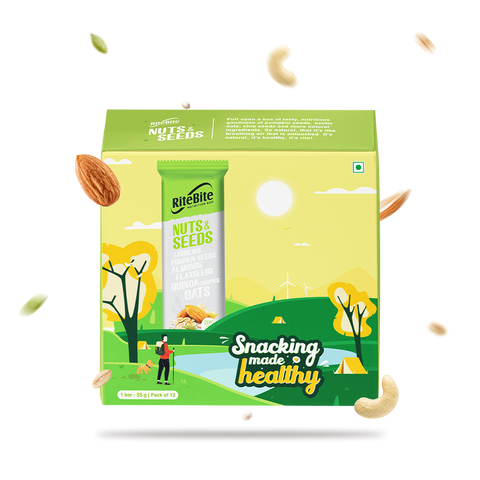RiteBite Nuts & Seeds - Pack of 12 (EXP: JUL 2021)