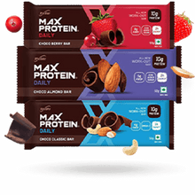 Load image into Gallery viewer, Protein Daily Variety Bars - Pack of 6 (EXP: JUl 2021)