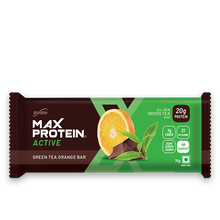 Load image into Gallery viewer, Max Protein Active Green Tea Orange (Pack of 12)