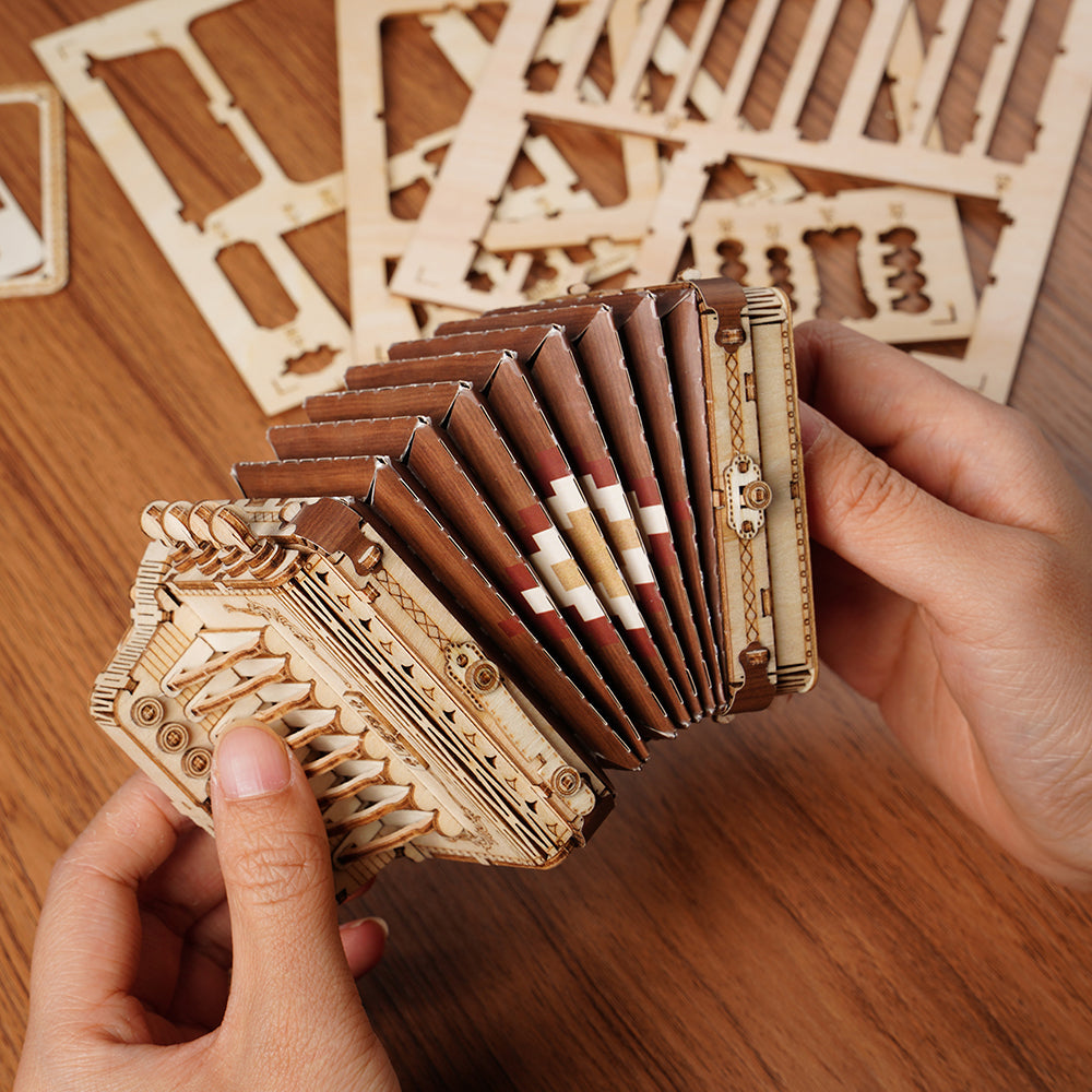 Rolife Modern 3D Wooden Puzzle - Musical Instrument (4 Kits)