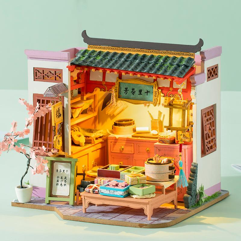 Rolife Pastry Shop SN009 DIY Miniature Dollhouse