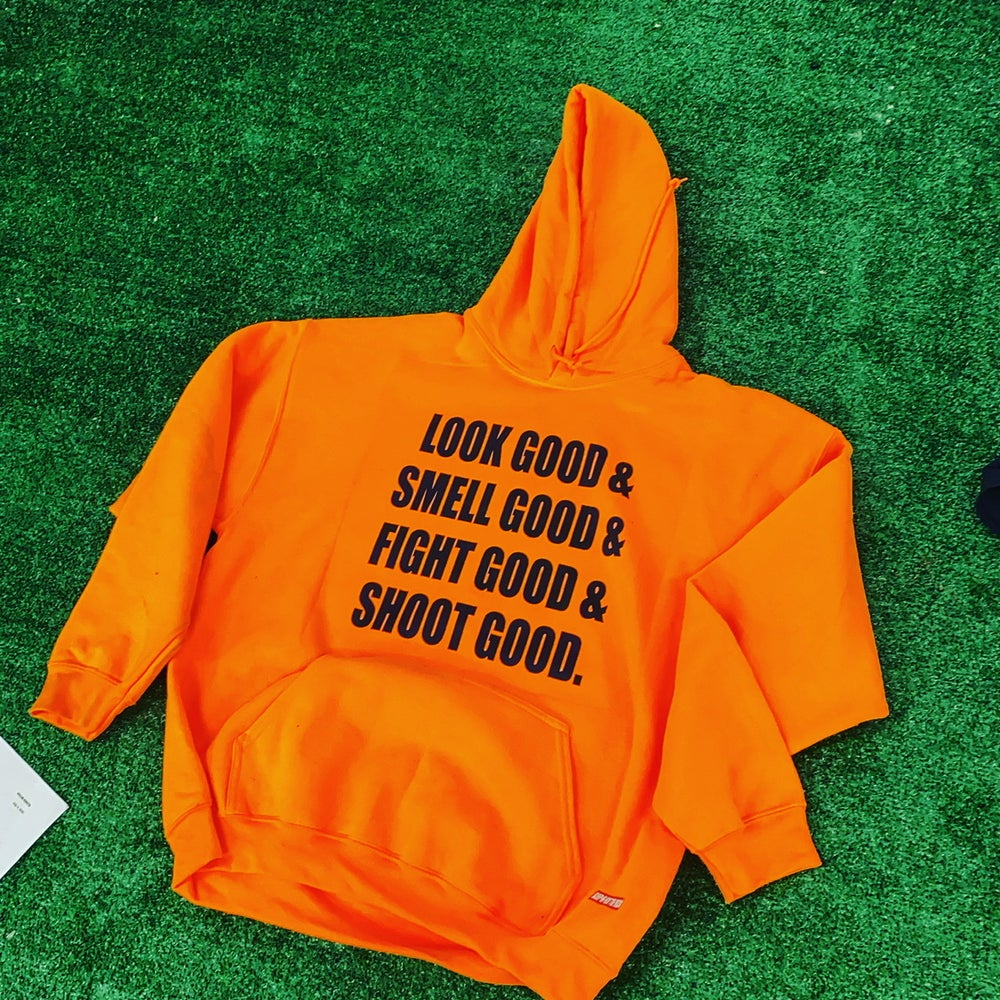"(Orange) ""All of the Above"" Hoodie"