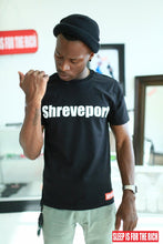 "Load image into Gallery viewer, BLACK ""SHREVEPORT CLASSIC"" TEE"