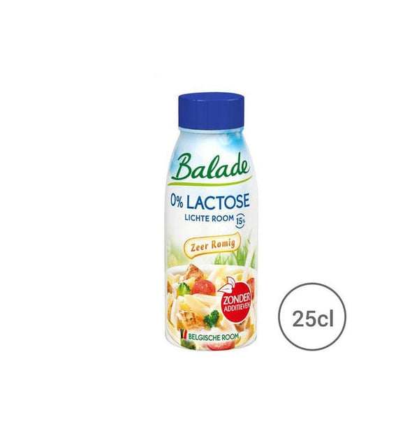 Balade 0% Lactose Cream 250ml