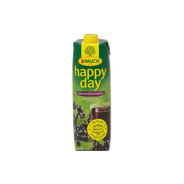 Rauch Happy day Black Currant Juice  1Ltr