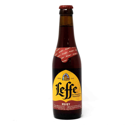 Leffe Ruby 5% Bottled Beer - 330ml