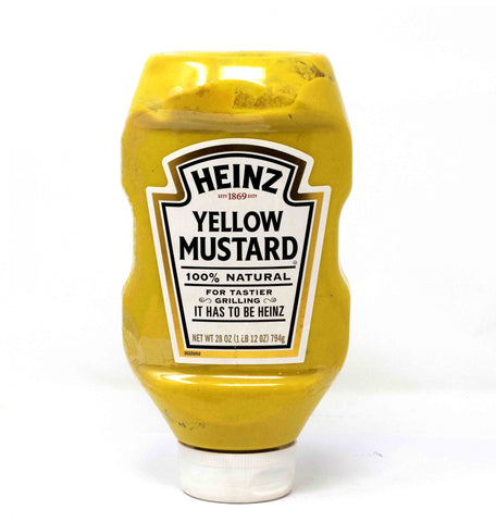 Heinz  Yellow Mustard Natural - 794g