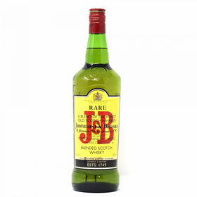 J & B Rare Blended Scotch Whisky 40% - 1Ltr