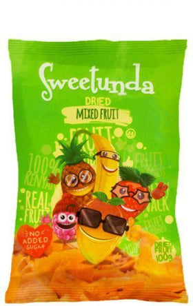 Sweetunda Dried Mixed Fruit 100g