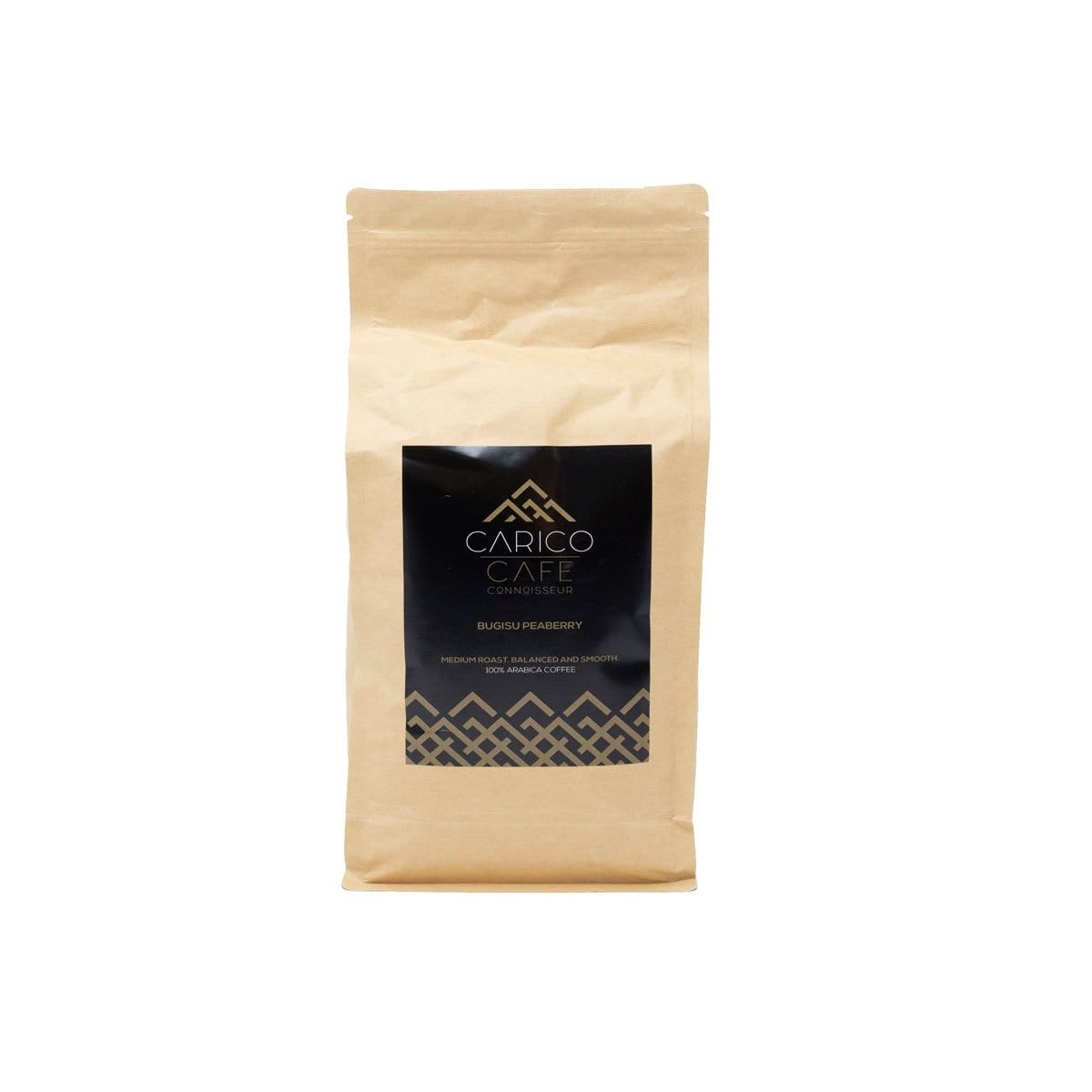 Carico Cafe Bugisu Peaberry ground - 250grm