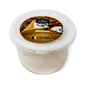 Almond Belgian Ice Cream - 1Ltr