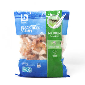 Boni Black Tiger Peeled Scampi Medium - 500grm