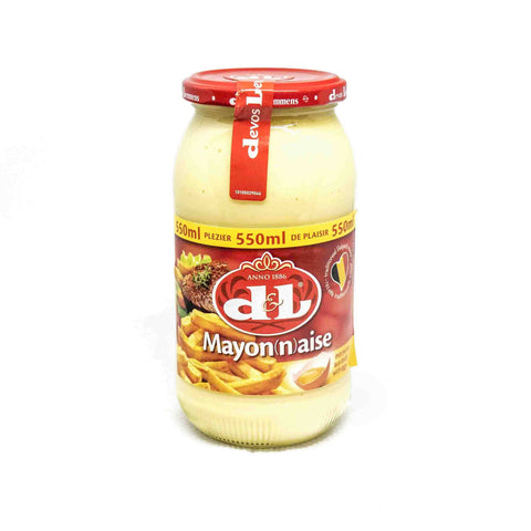 D&L Mayonnaise w. Egg 550ml