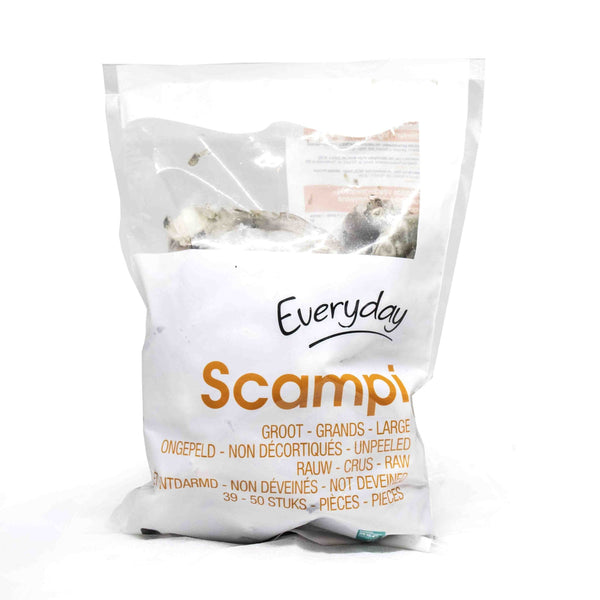 Everyday Scampi unpeeled 1kg