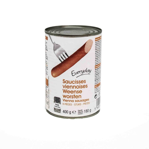 Everyday 6 Vienna Sausages 400g