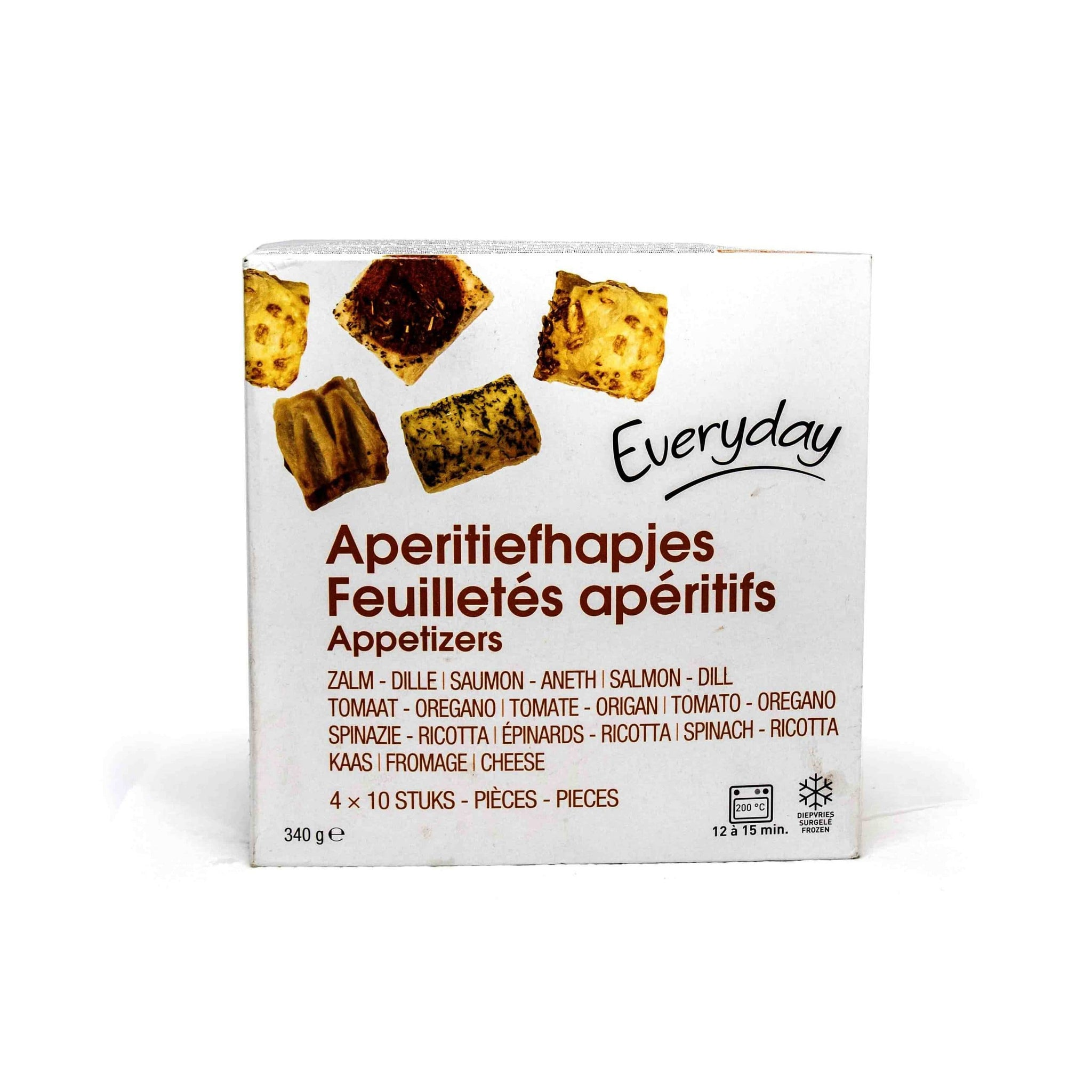 Everyday aperitif snacks 40PC 340g