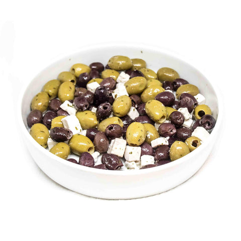 Olives with Fetta Cheese
