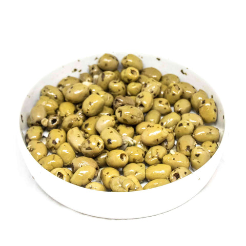 Olives with Garlic
