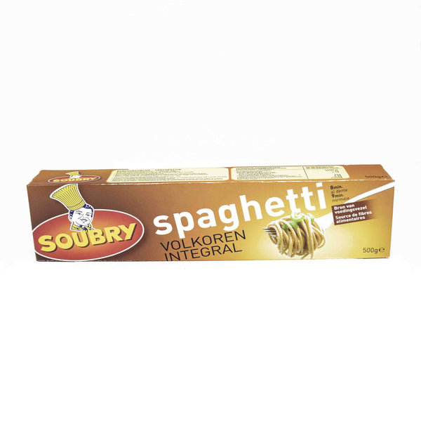 Soubry Whole Wheat Spaghetti 500g