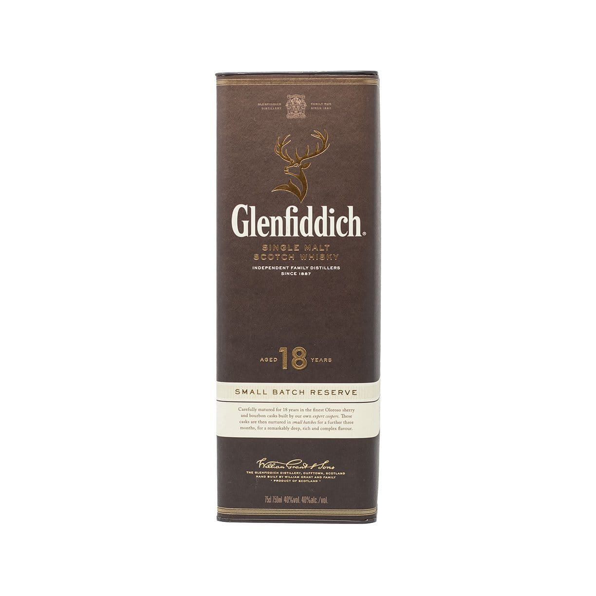 Glenfiddich 18 years 75cl