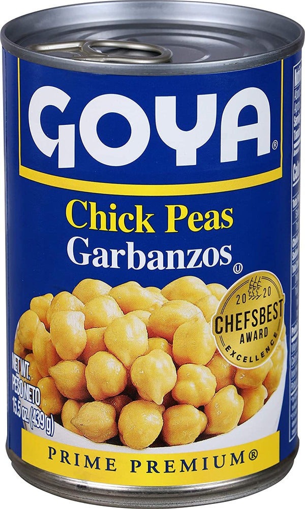 Goya Chick Peas With Olive Salsa 439g