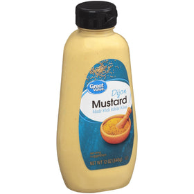 Great Value Mustard Made With White Wine 340g