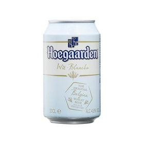 Hoegaarden White Beer Can 33CL