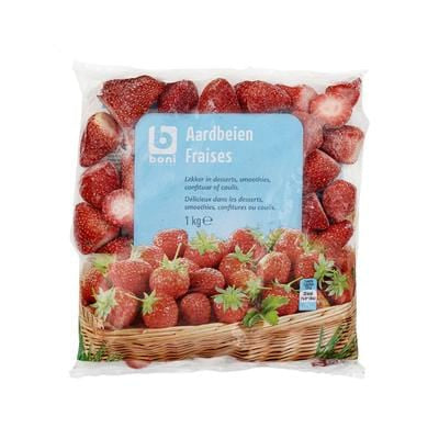 Boni Frozen Strawberries 1Kg