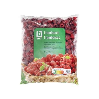 Boni Frozen Raspberries 1kg
