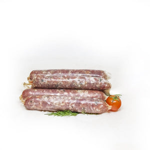 Fresh Prime Beef Sausage with herbs