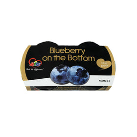 Bio Blueberry on Bottom Yoghurt 500mlx2
