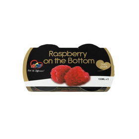 Bio Raspberry on Bottom Yoghurt 150mlx2