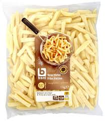 Boni Fresh Pre Fried Fries - 1Kg