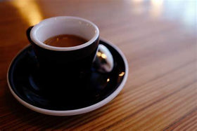Flavoured Americano (Single Espresso Extracted over hot water)