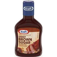 Kraft Sweet Brown Sugar BBQ Sauce & Dip 510g